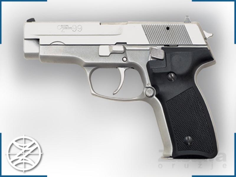Pistolj CZ 99 9mm hromiran