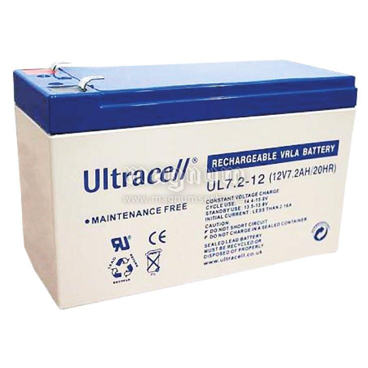 Baterija Akumulator zele 12V 7,2Ah Ultracell