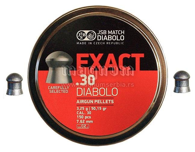 Dijabola JSB Exact 7.62 1/150 3.25g
