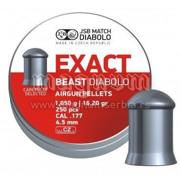Dijabola JSB Exact Beast 4.5 1/250 1.05g