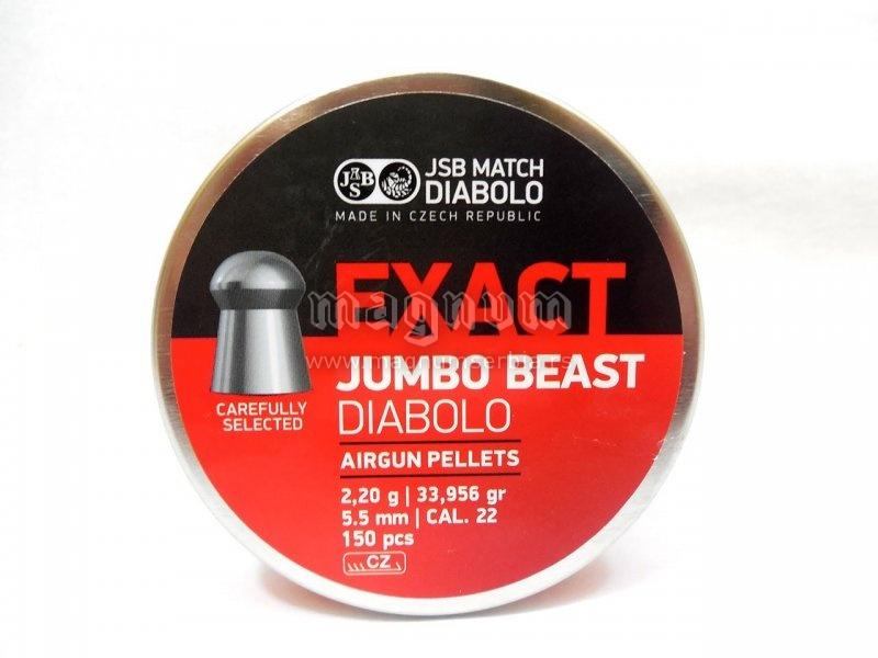 Dijabola JSB Exact Jumbo Beast 5.5 1/150 2.20g