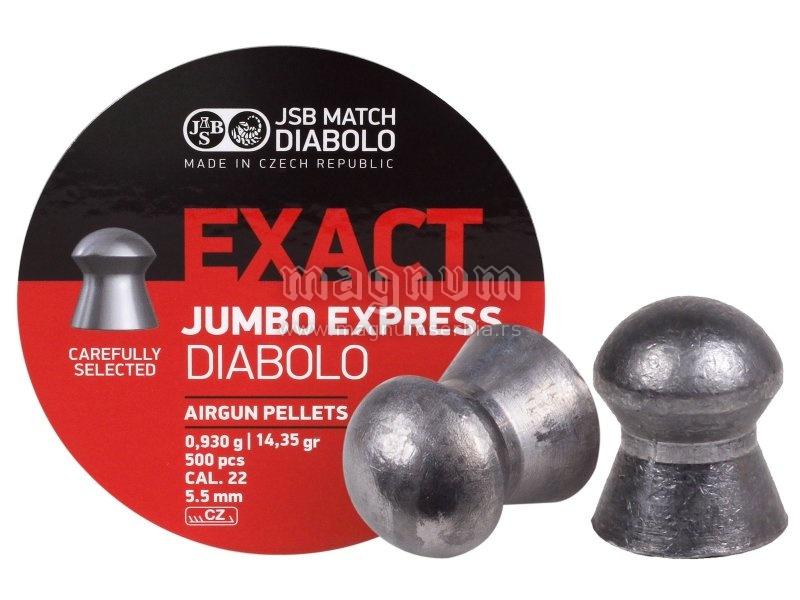 Dijabola JSB Exact Jumbo Express 5.5mm 1/500 0.93g