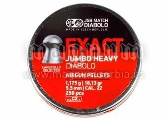 Dijabola JSB Exact Jumbo Heavy 5.5 1/250 1.175g