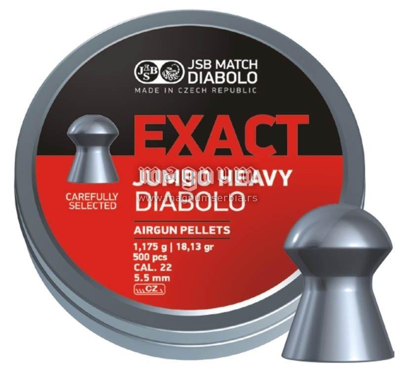 Dijabola JSB Exact Jumbo Heavy 5.5 1/500