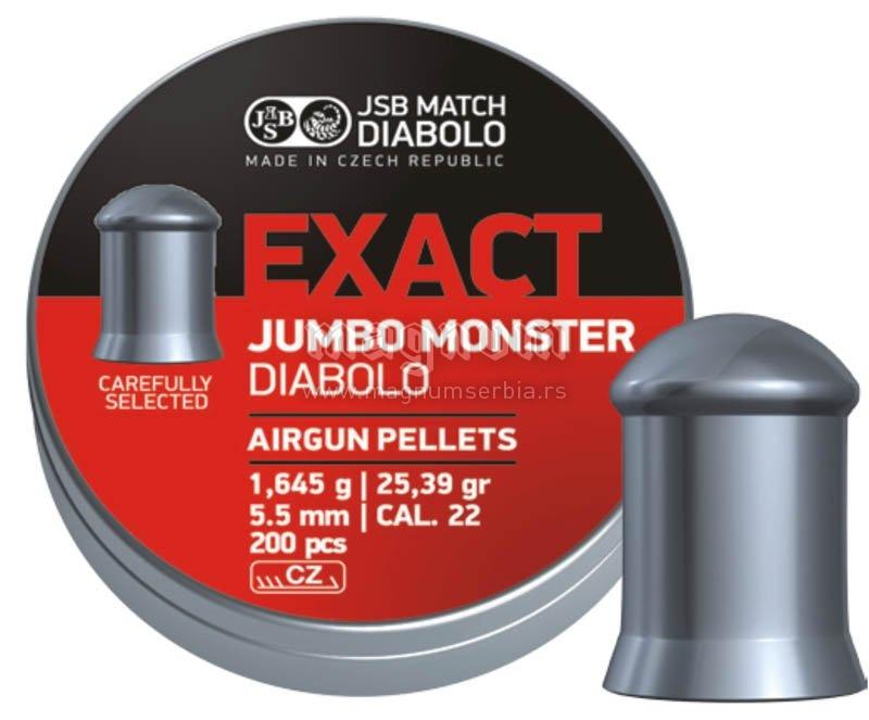Dijabola JSB Exact Jumbo Monster 5.5 1/200 1.645g