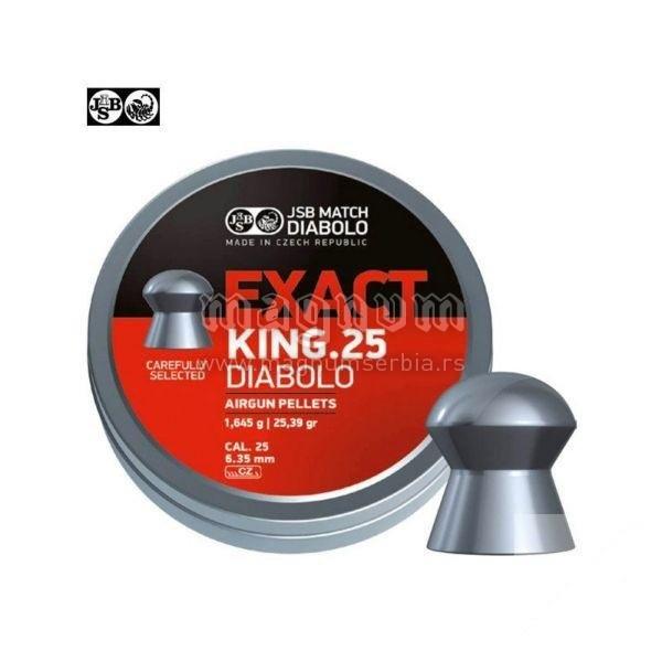 Dijabola JSB Exact King 6.35mm 1/150 1.645g