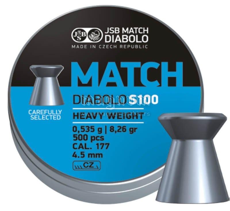 Dijabola JSB Match Heavy Weight 4.5 1/500 0.535