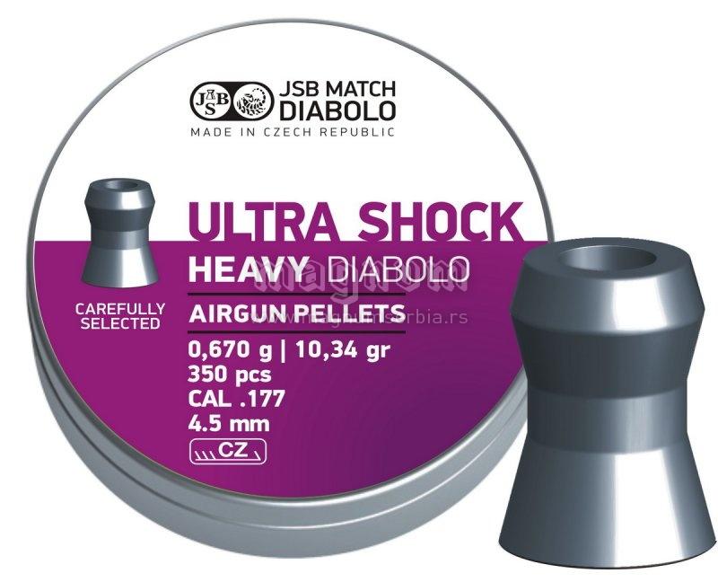 Dijabola JSB Ultra Shock Heavy 4.5 1/350 0.67g