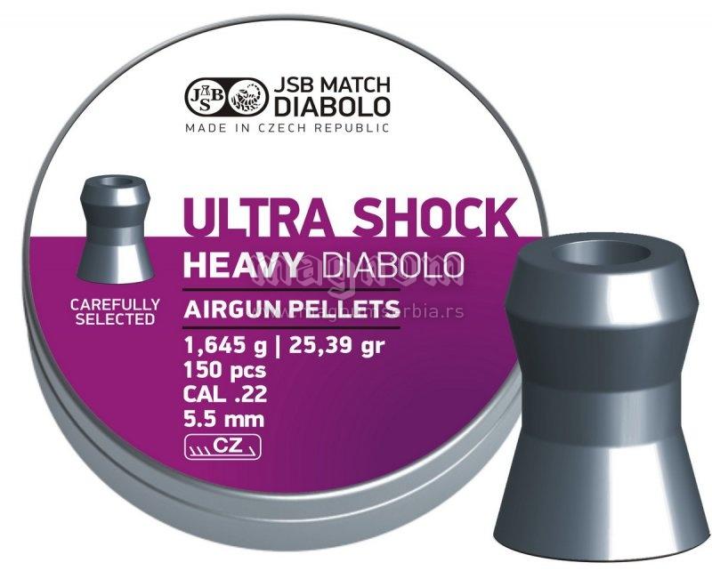 Dijabola JSB Ultra Shock Heavy 5.5 1/150