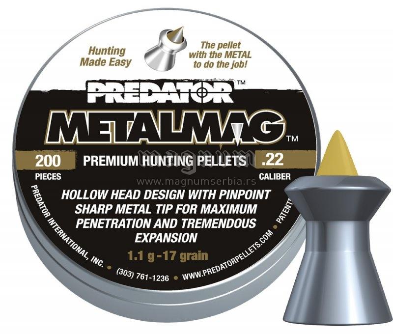 Dijabola JSB Predator Metalmag 5.5 1/200 1.10g
