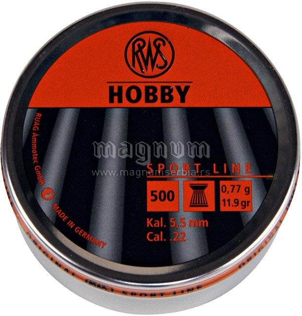 Dijabola RWS 5.5mm HOBBY 0.77g 1/500
