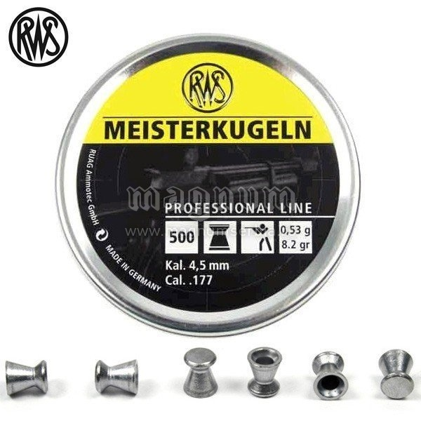 Dijabola RWS Meister 4.5mm 1/500