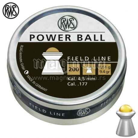 Dijabola RWS Power Ball 4.5mm 0.61g 1/200