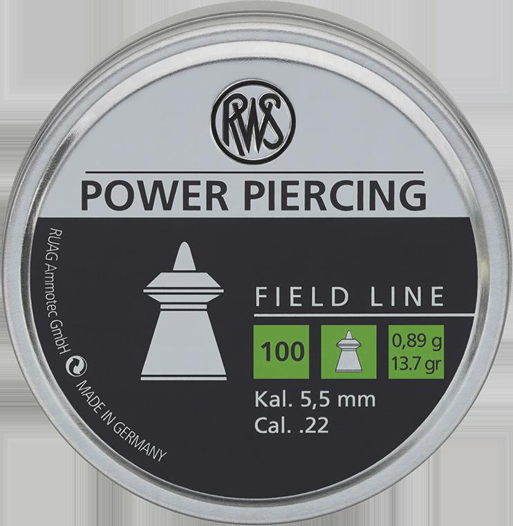 Dijabola RWS Power Piercing 5.5mm 0.89g 1/100