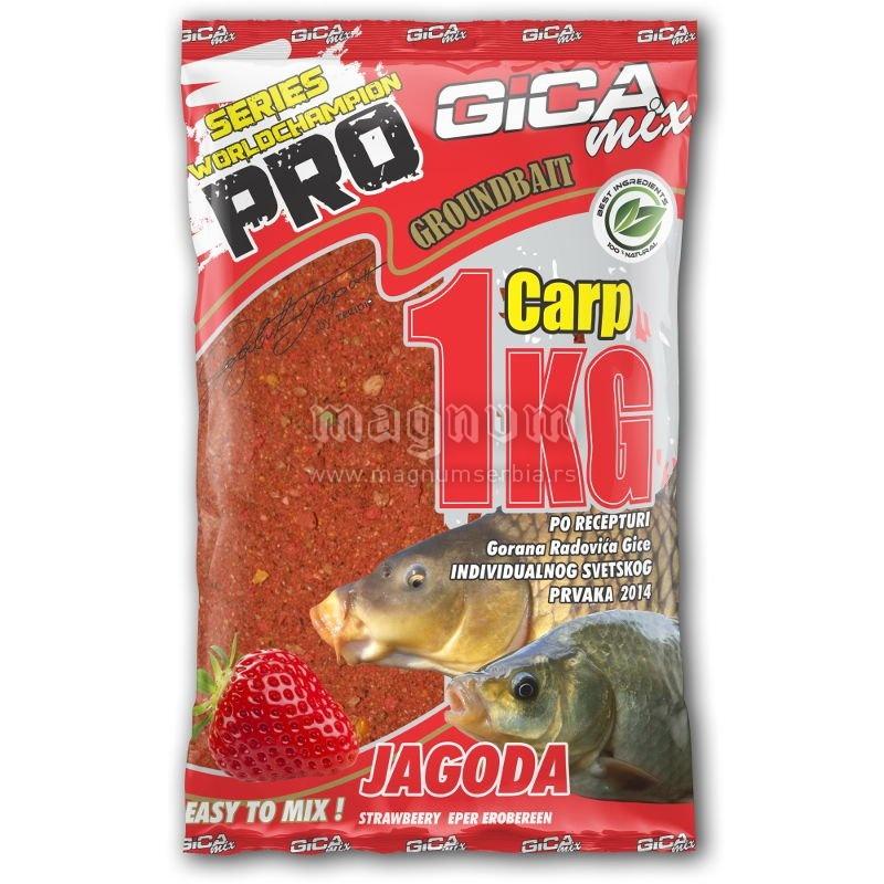 Gica mix Pro 1kg Carp jagoda