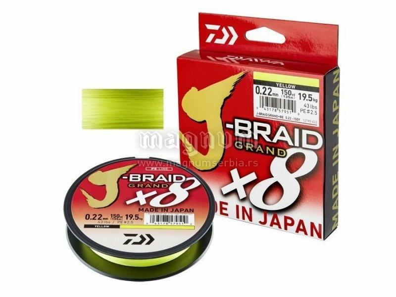 Kanap Daiwa J-Braid Grand X8 135m 016 12790-016