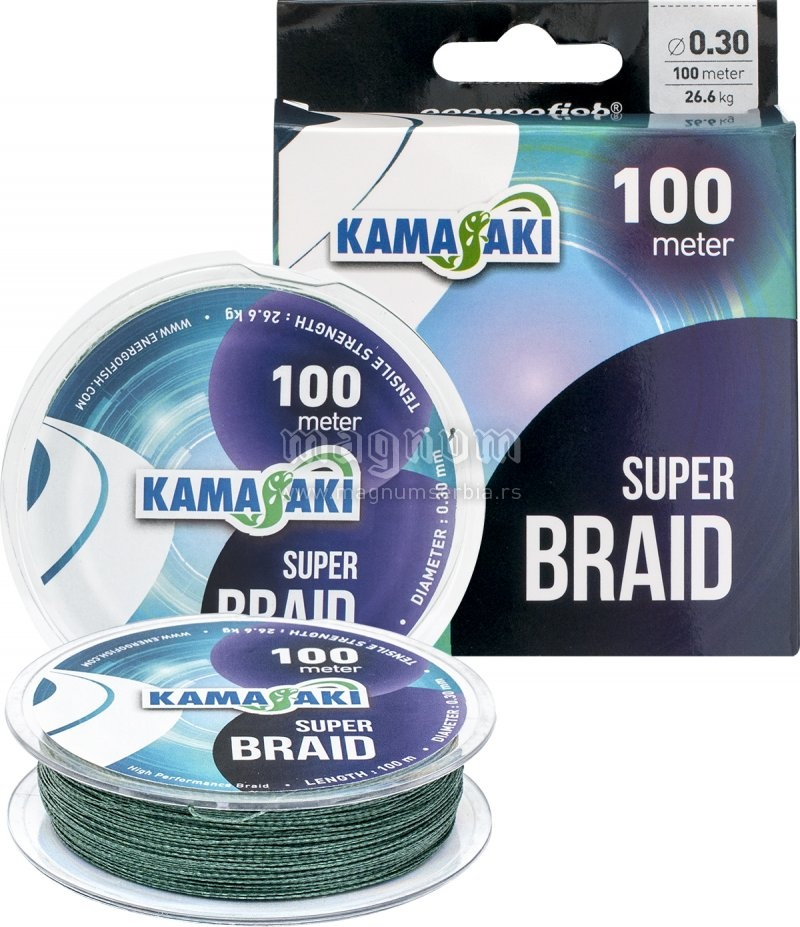Kanap Kamasaki Super Braid 014 100m