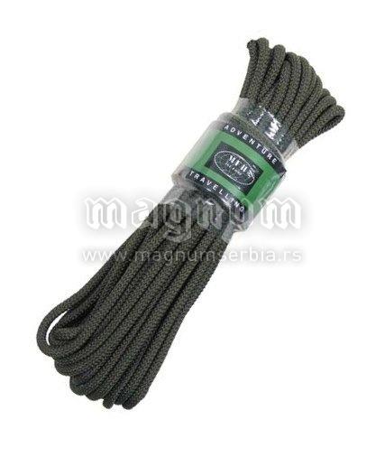 Konopac MFH 27503C zeleni 15m/9mm