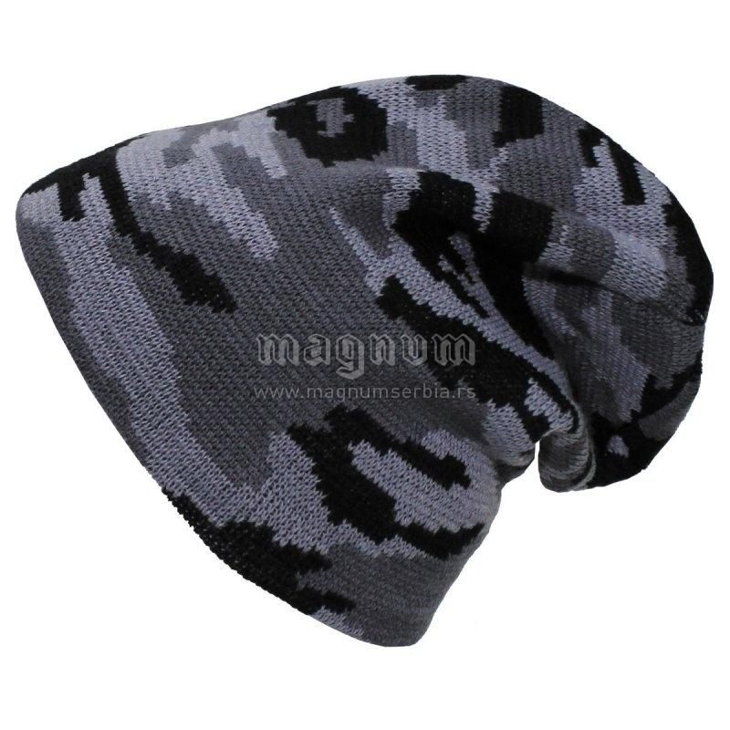 Kapa MFH 10931U maskirna pletena
