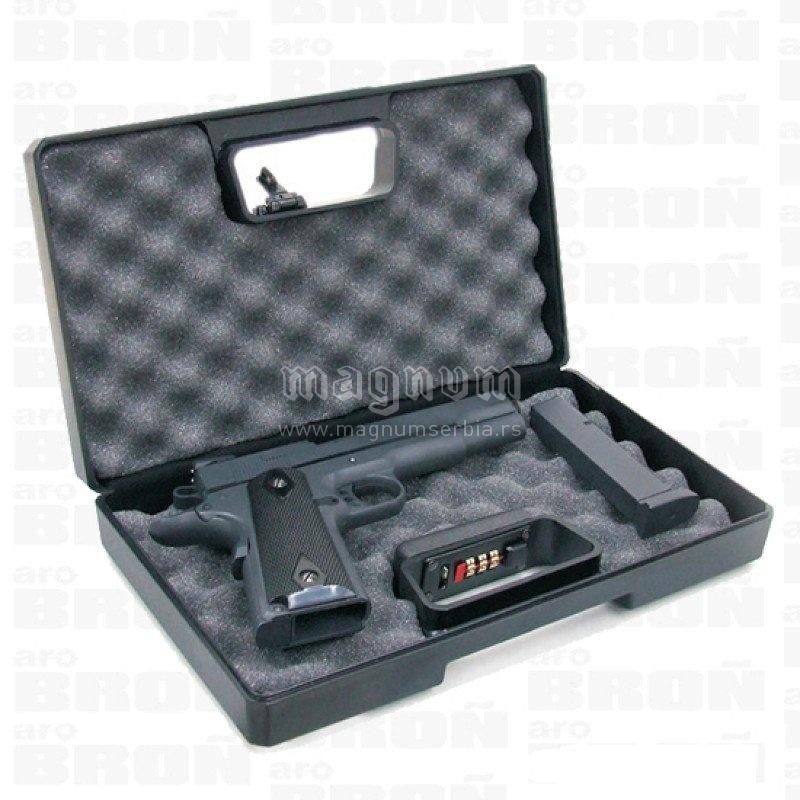 Kofer 2014 CU za pistolj sa sifrom Negrini