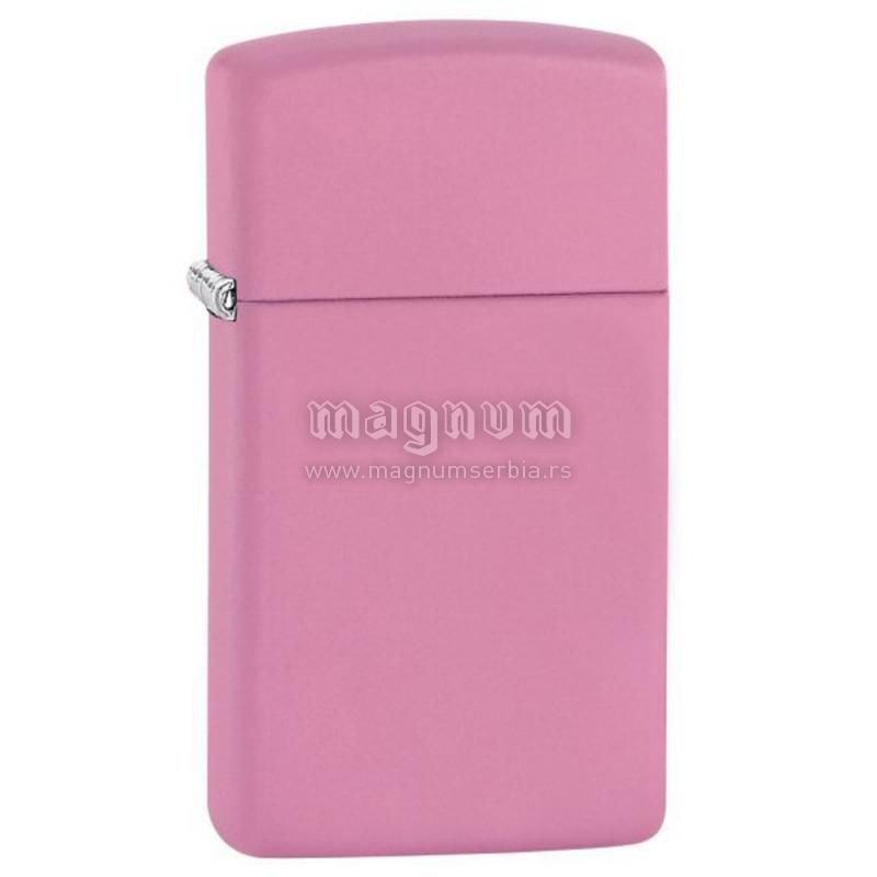 Zippo upaljac 1638 Pink Matte Slim