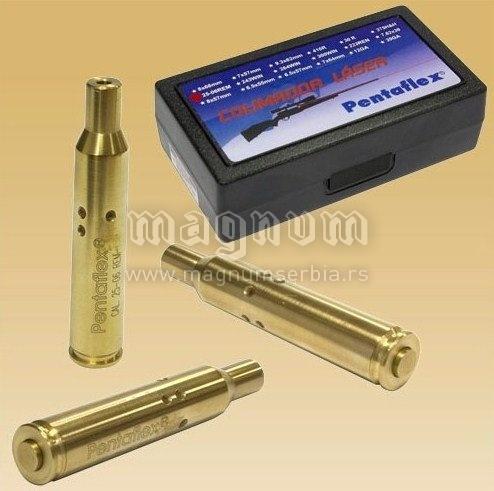 Laser Pentaflex 7x57mm za upucavanje