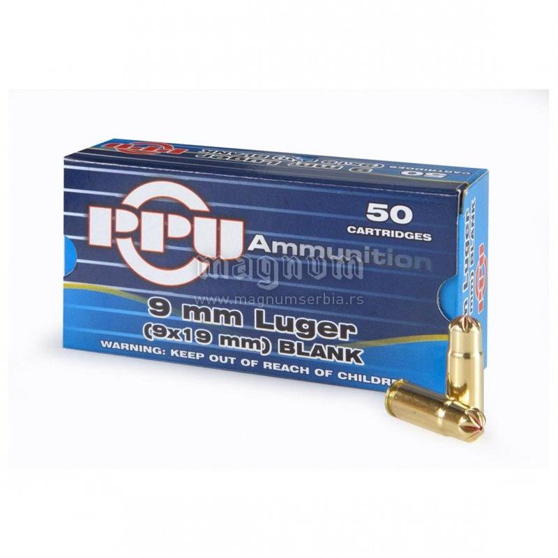 Start manevarski blank metak 9mm PPU
