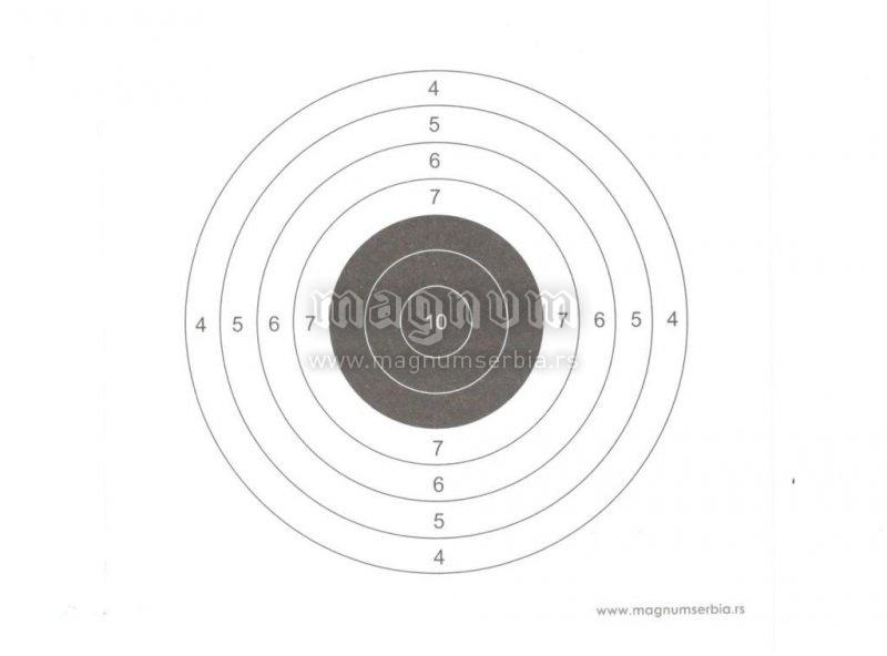 Meta za vazdusnu pusku II 140x140mm