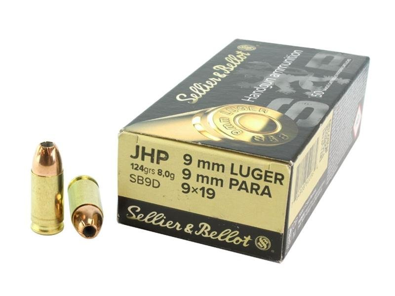 Metak Belot 9mm JHP 7.5g