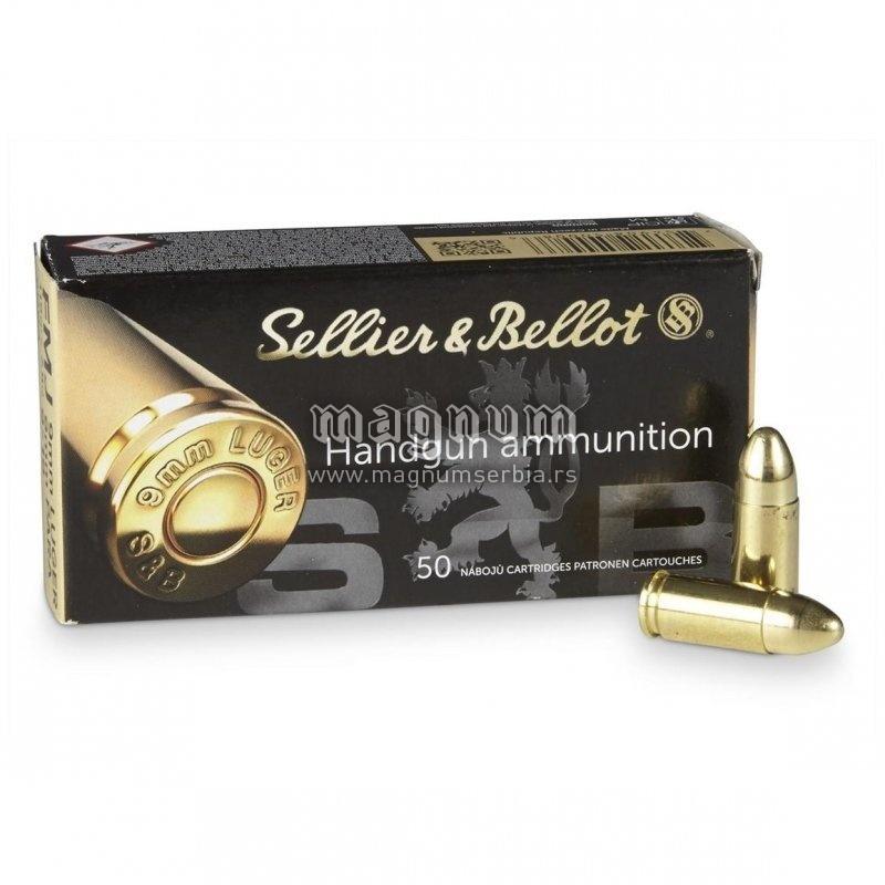 Metak Belot 9mm Luger FMJ 8g
