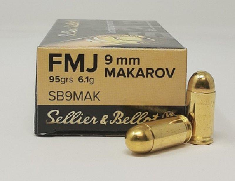 Metak Belot 9mm MAKAROV FMJ 6.1g