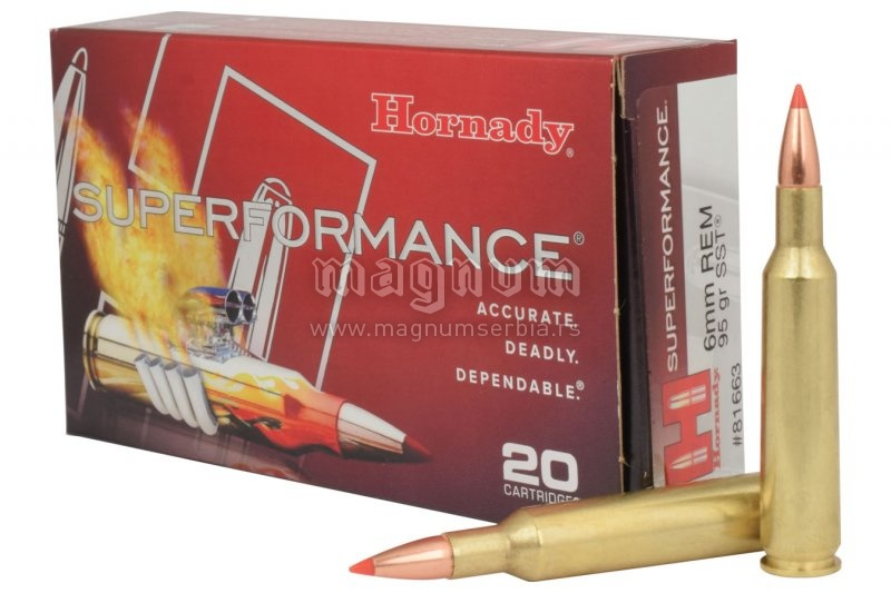 Metak Hornady 6 mm Remington SST 6.2g