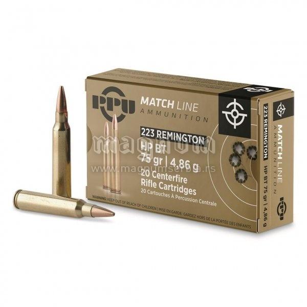 Metak PPU 223 Rem Match HP BT 4.86g