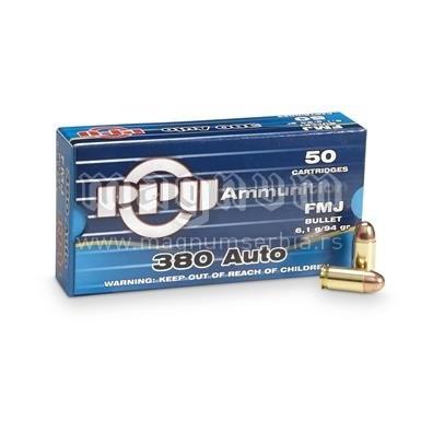 Metak PPU 9mm.380 kratka