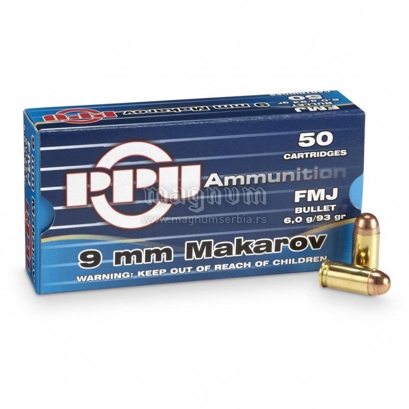 Metak PPU 9mm Makarov