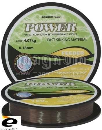 Najlon ET Power Feeder 018 150m
