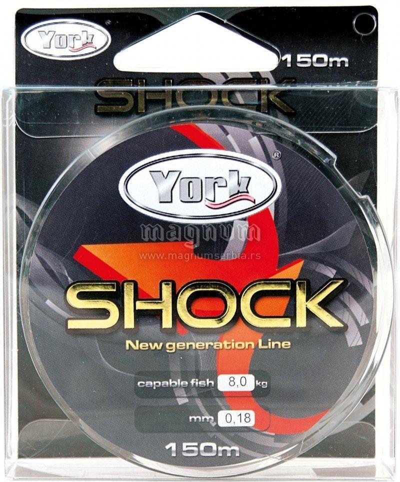 Najlon Mega Shock 150m 025/13.0kg York