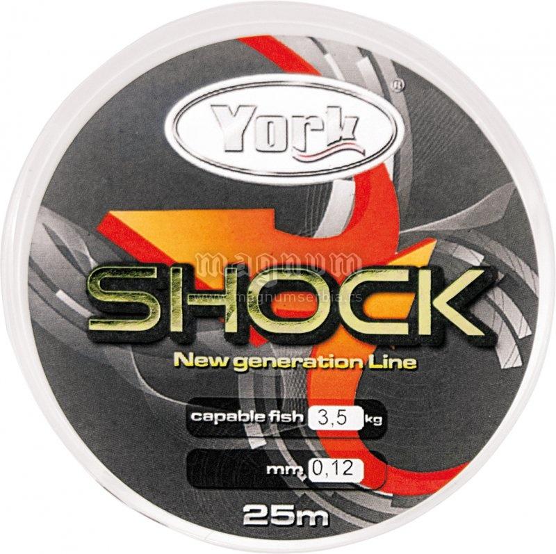 Najlon Mega Shock 25m 012/3.5kg York