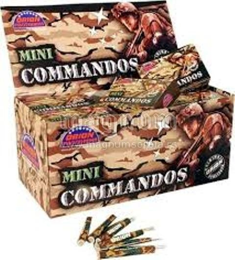Orion petarda 206 Comandos 1/1