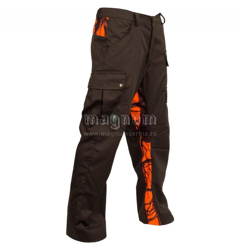 Pantalone Karalic braon K88