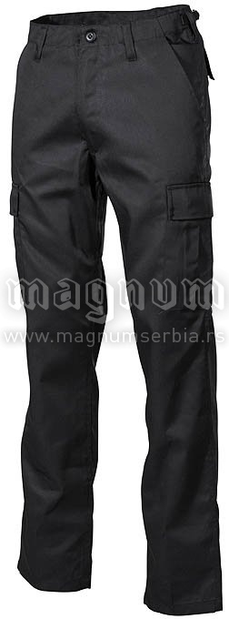 Pantalone MFH 01304A US BDU crne