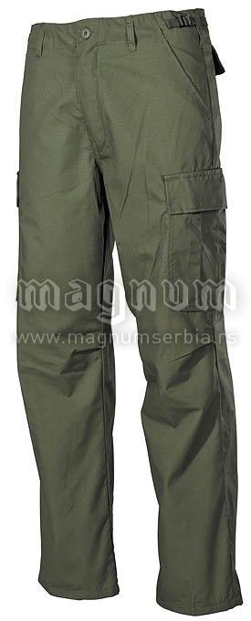 Pantalone MFH 01374B US Field zelene AKCIJA