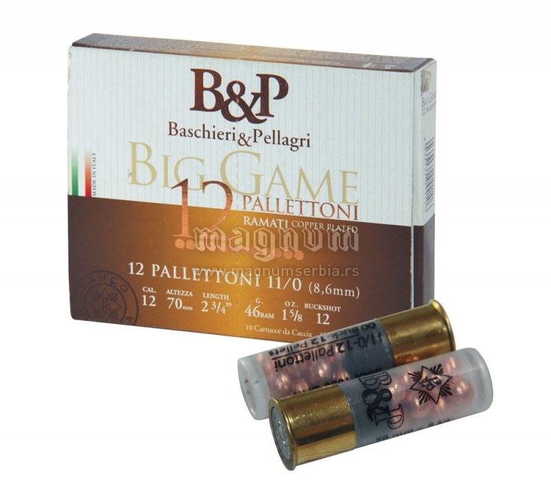 Pat.B&P Big Game 11/0 12P k12