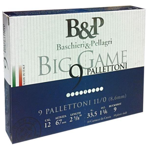 Pat.B&P Big Game 11/0 9P K12