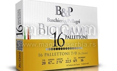 Pat.B&P Big game 7/0 16P k20/70