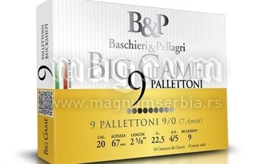 Pat.B&P Big Game 9/0 9P k20/70