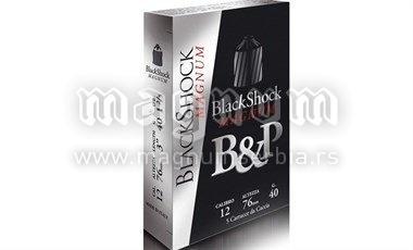 Pat.B&P Black Shock 12/76 40g Magnum