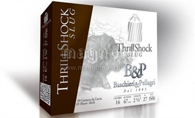 Pat.B&P Thrill Shock Slug k16 26g