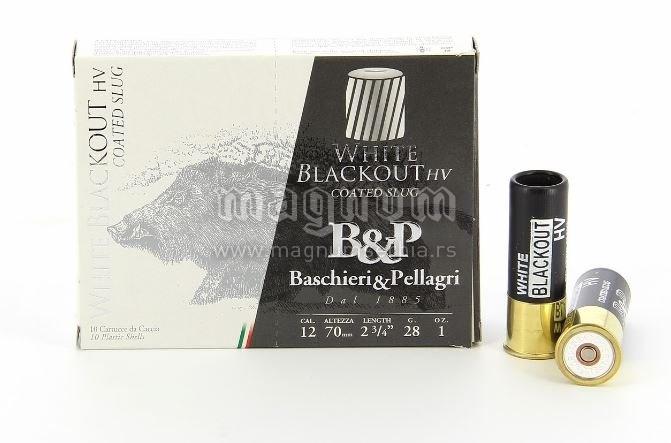 Pat.B&P White Blackout 12/70 28g Slug