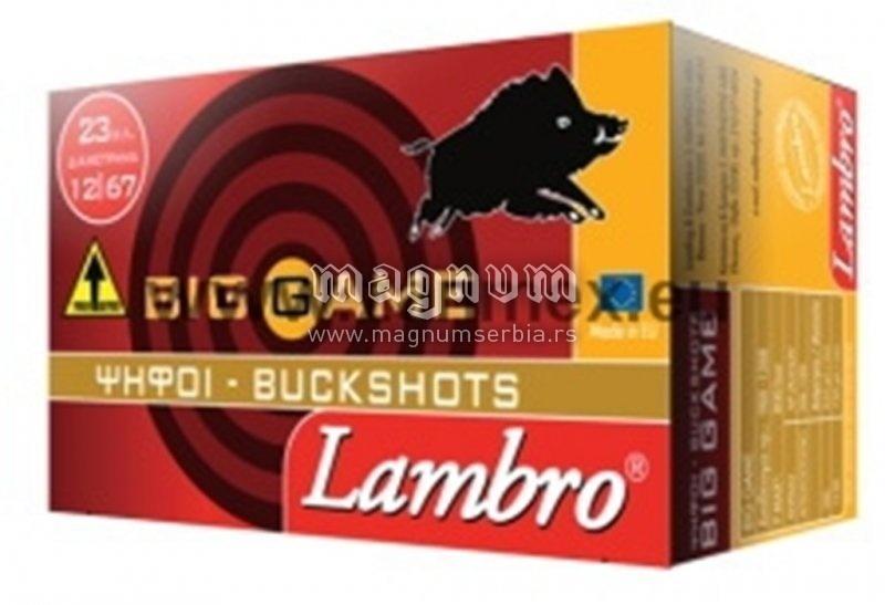 Pat.Lambro 12/70 Big Game 7/0 27/6.2mm